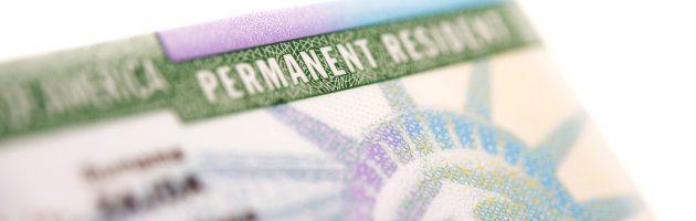 Green Card para viúva estrangeira de cidadão americano