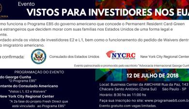 Eventos Programa EB5