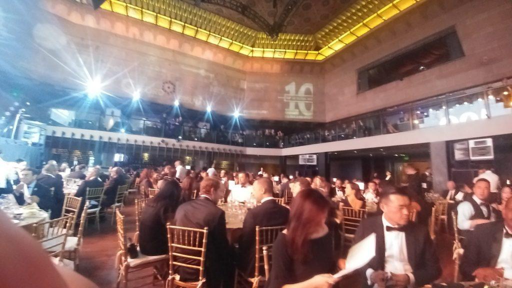 Evento premiação visto EB5